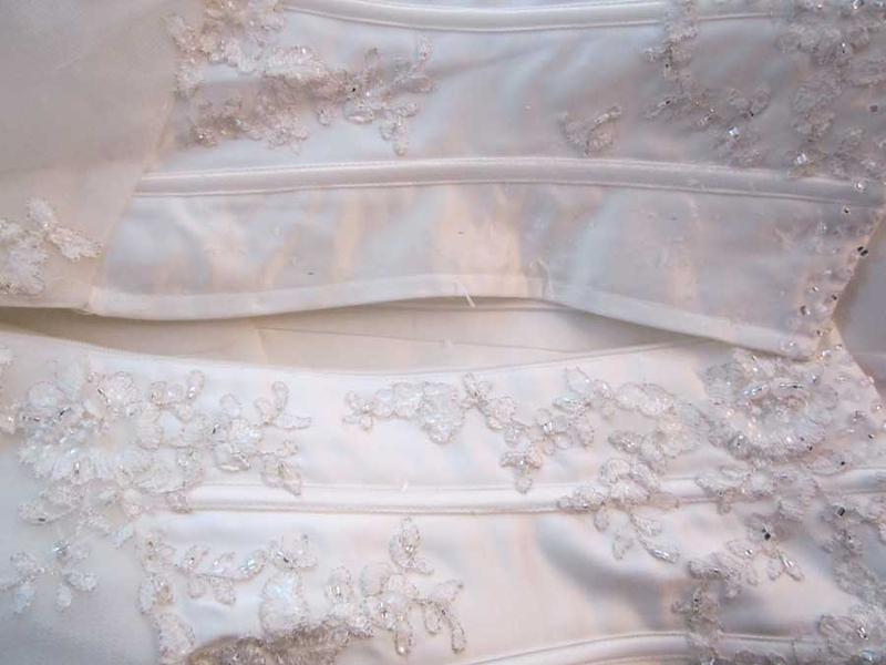 Ausgezeichnet Brautkleid änderungen Dc Galerie - Hochzeitskleid ...